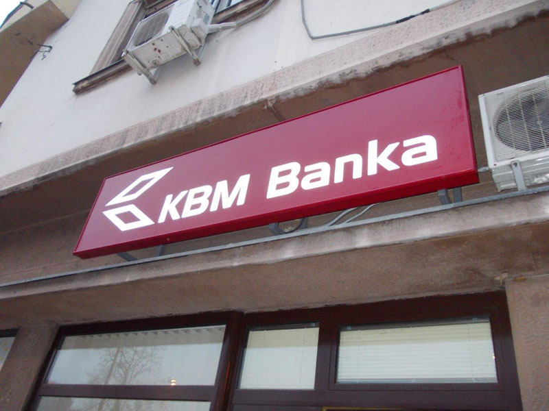 Light Box-KBM banka - Niš
