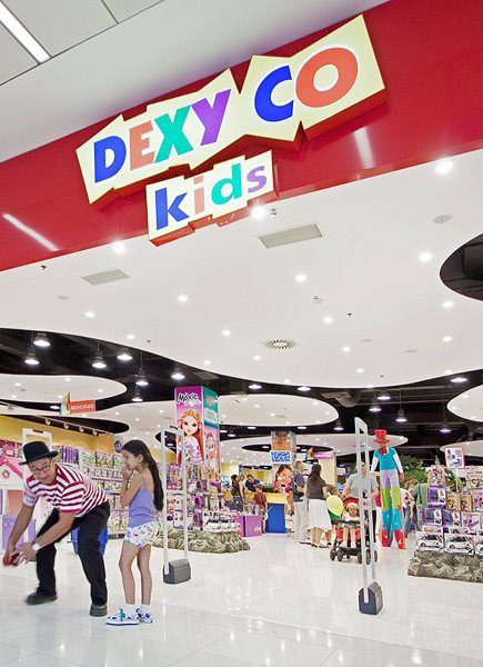 Light Box - Logo forma - Dexy Co Kids