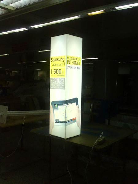 Light Box stubna reklama